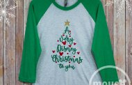 Celebrate in Style with A Very Disney Christmas To you Tee Shirt