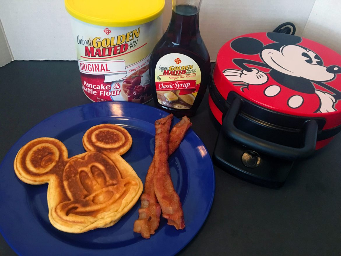 Let's Make Mickey Waffles with Carbon's Golden Malted Mix!