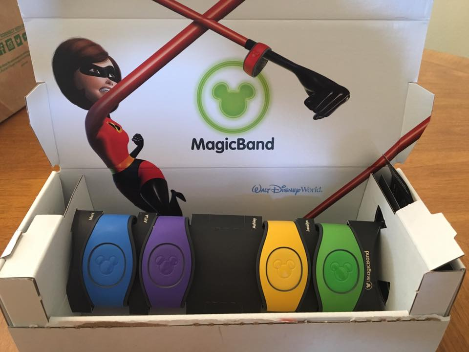 Magic Bands 2.0 are Officially on their Way to Walt Disney World Resort Guests