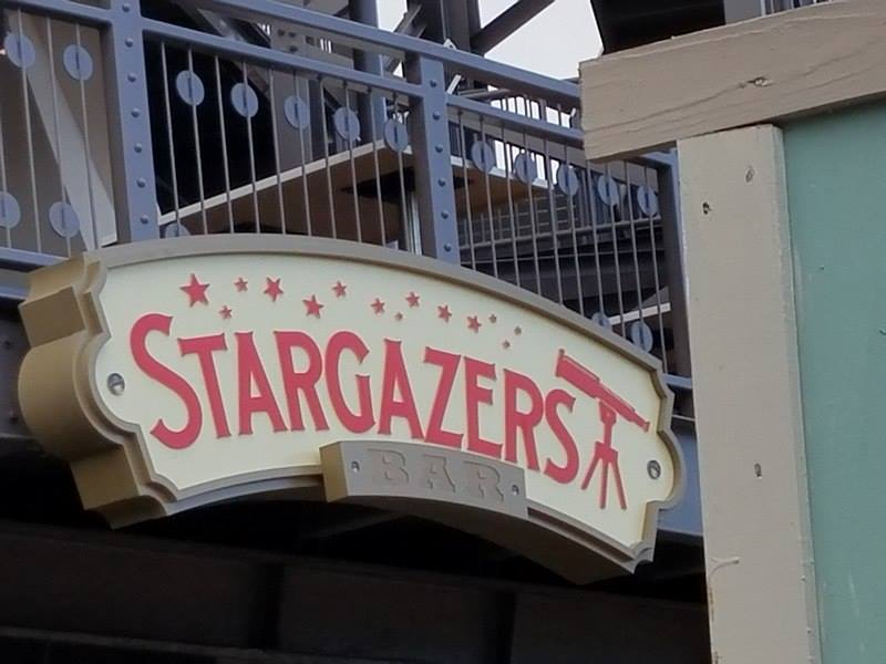 First Look at the all new Stargazers Bar outside of Planet Hollywood in Disney Springs