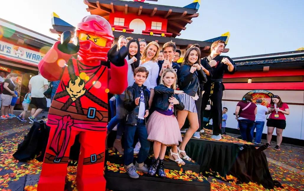 """Fuller House"" stars led by Jodie Sweetin celebrate grand opening of LEGO NINJAGO World at LEGOLAND Florida Resort"