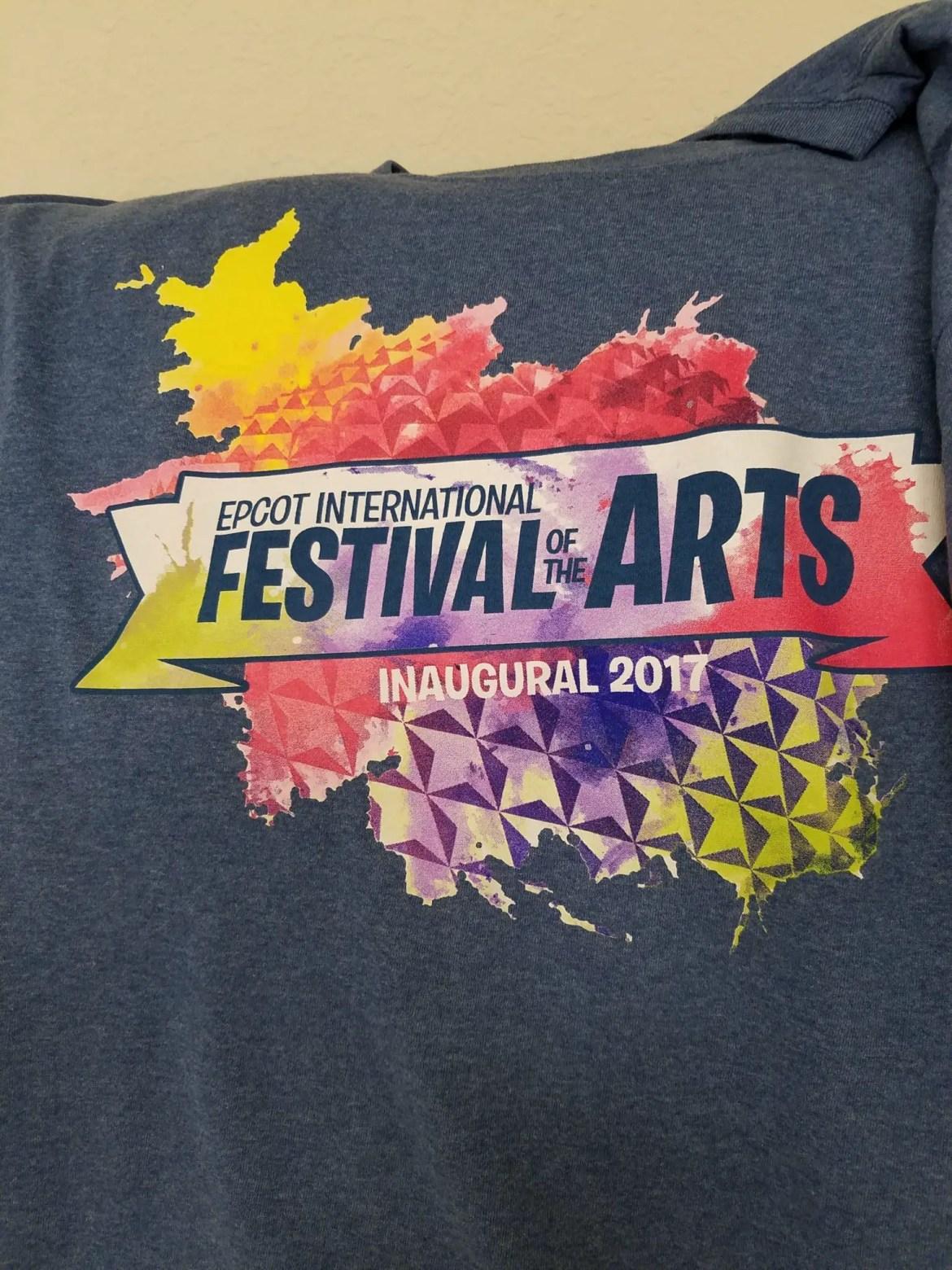 Epcot's Festival of the Arts Annual Passholder Merchandise
