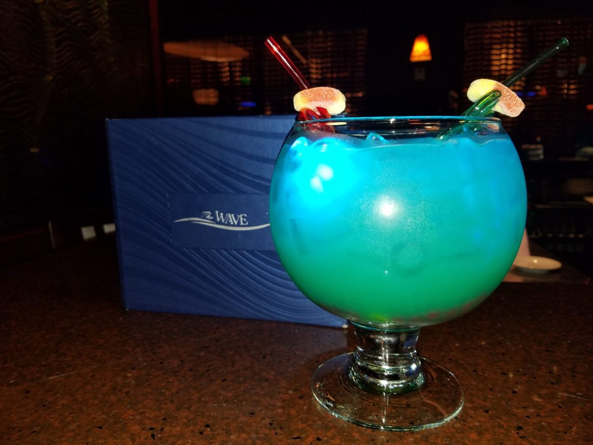 'Seven Seas Lagoon' Themed Cocktail Now Appearing At The Wave Bar