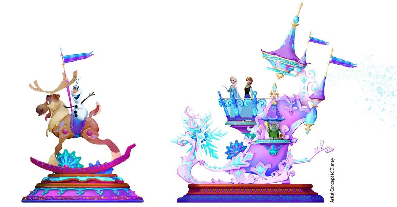 Concept Art Released for Disneyland Paris 25th Anniversary Celebration Parade