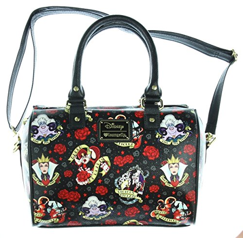 Delightfully Devious Roses and Disney Villains Loungefly Accessories
