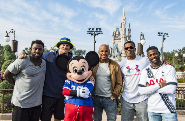 Pro Bowl Players Honored During a Celebratory Magic Kingdom Parade