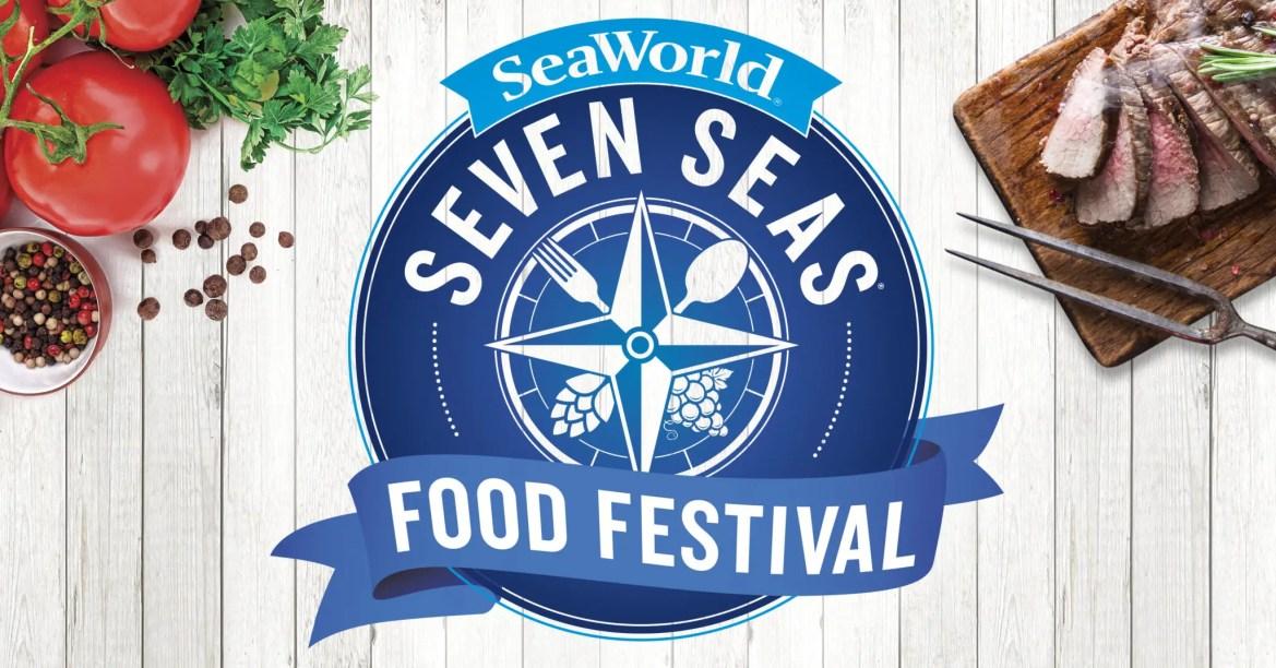 SeaWorld's All-New Seven Seas Food Festival Brings a Wave of Headline Entertainment to Orlando