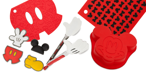 Bright and Bold Best of Mickey Colorful Kitchen Accessories Collection