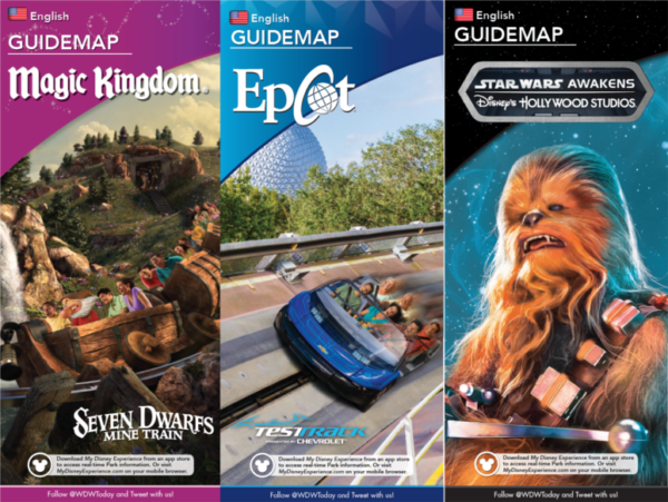 More Updated 2017 Disney World Park Maps are Here