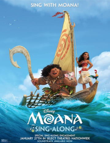 """""""Moana"""" Sing-Along Sequence """"How Far I'll Go"""" Is Online"""