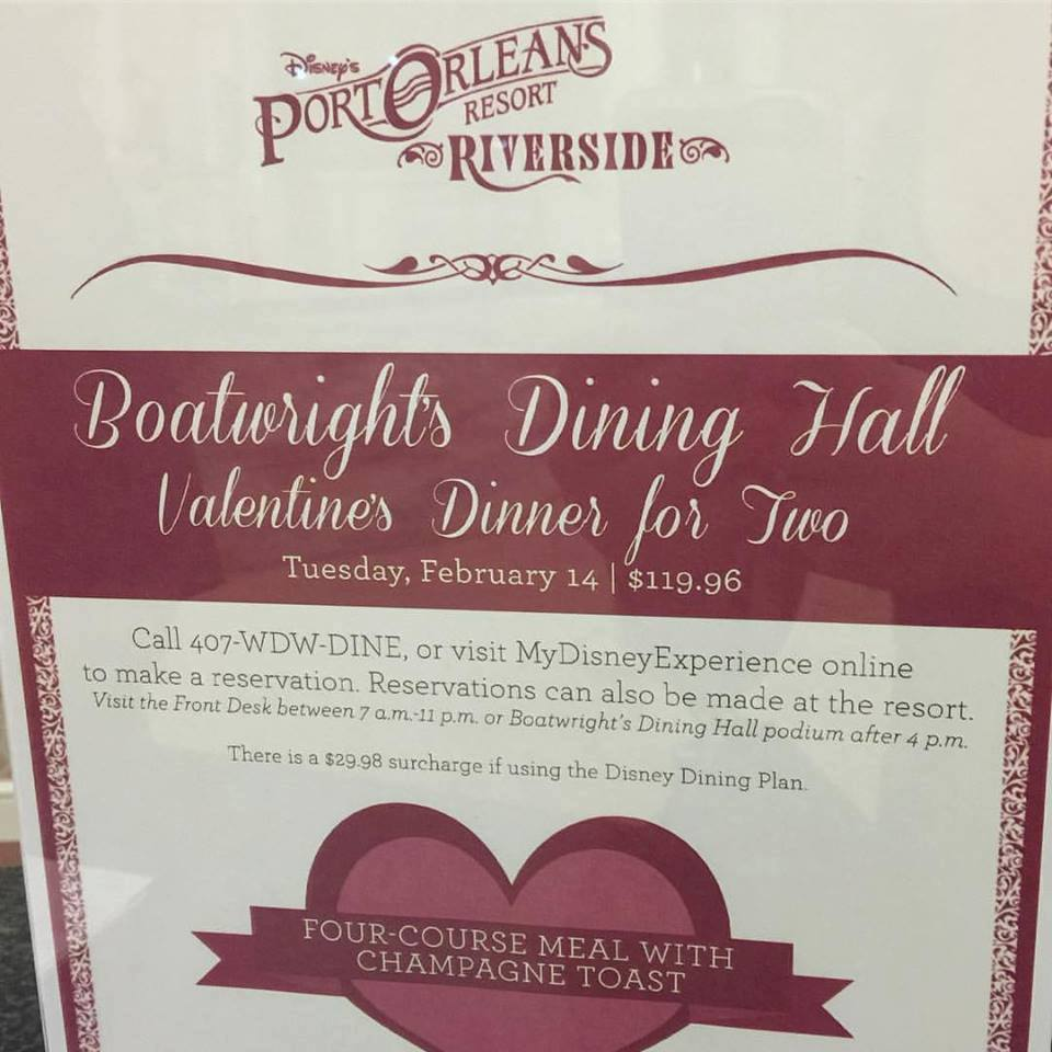 Boatwright\'s Dining Hall Hosting Valentine\'s Day Dinner for Two ...