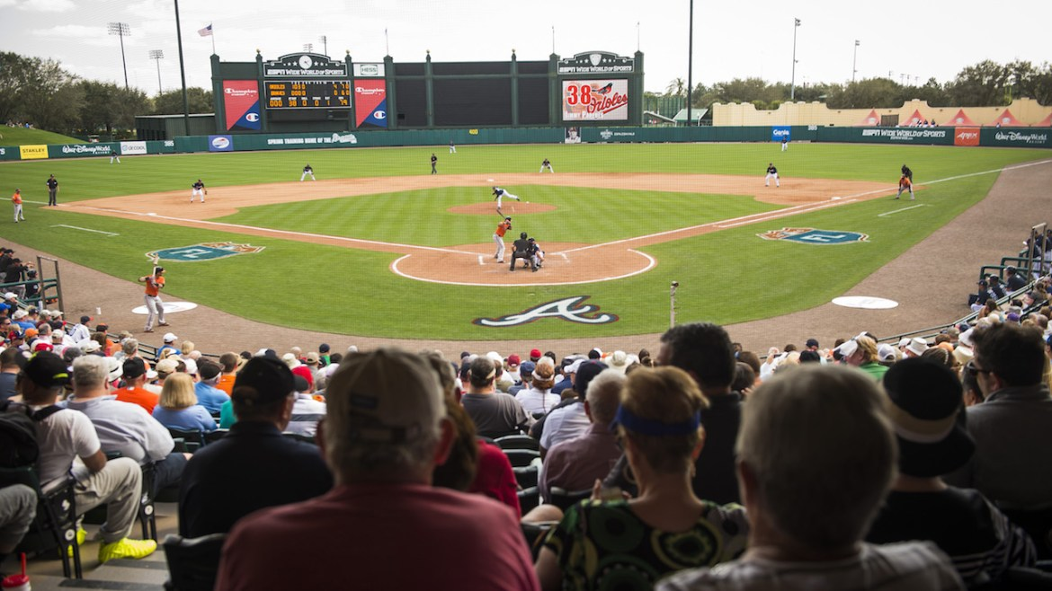 Atlanta Braves Spring Training Begins its 20th Year at ESPN Wide World of Sports Complex
