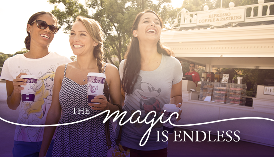 """You Could Win a Walt Disney World Vacation Package with Joffrey's """"Coffee to Castle Sweepstakes"""""""