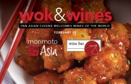 Morimoto Asia and Wine Bar George pair up for special 'Wok and Wines' Dinner
