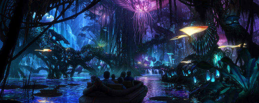 Disney Cast Member Previews for Pandora: World of Avatar starting May 5th