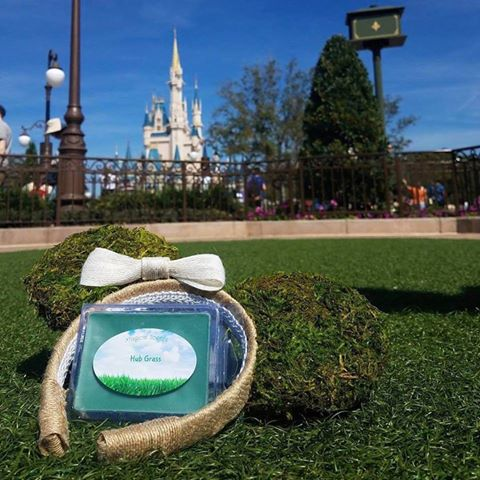 Springy New Magic Kingdom Hub Grass Inspired Candle Melts