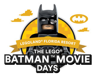 LEGOLAND Florida to Celebrate The LEGO Batman Movie Days March 4-5 & 11-12; Included with Admission!