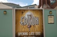 New Signage for The Edison in Disney Springs Indicates Late 2017 Opening