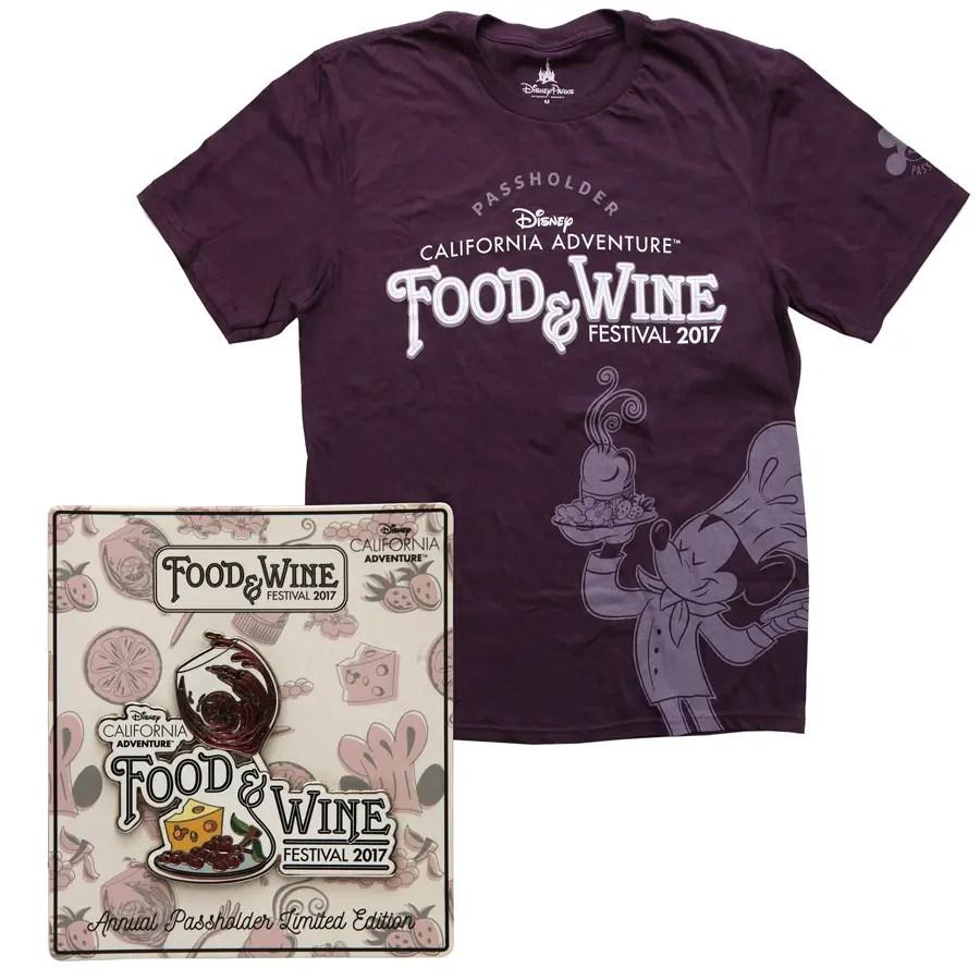 Disney Reveals Merchandise for 2017 Disney California Adventure Food and Wine Festival