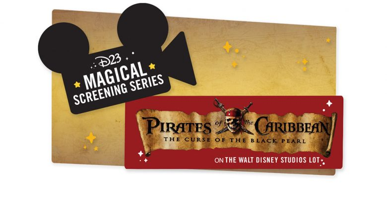 D23 Magical Screening Series: Pirates of the Caribbean Event at The Walt Disney Studios on May 13