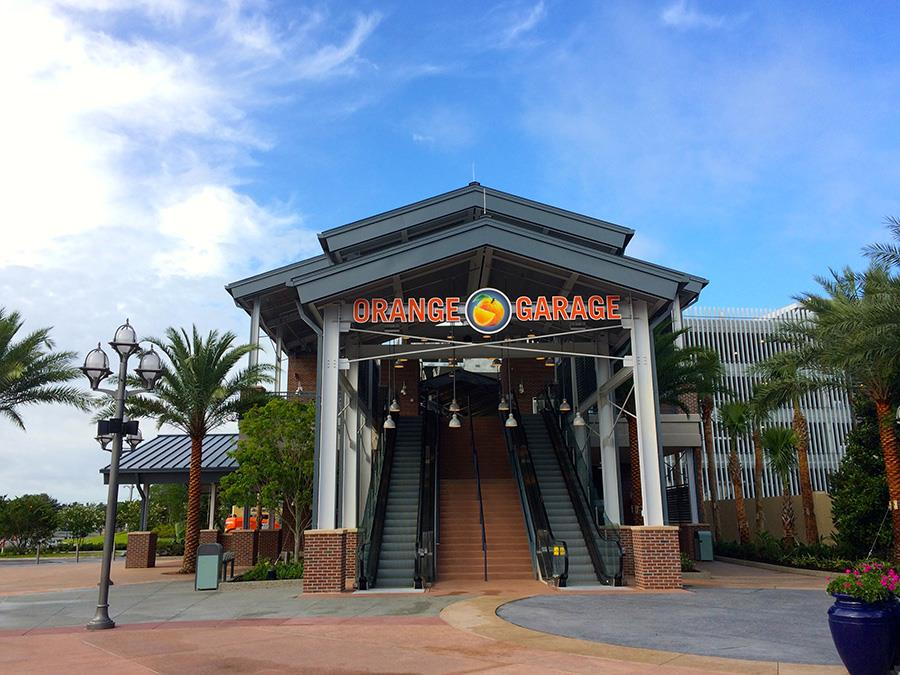 Disney Springs Begins Construction of Third Parking Garage on April 1