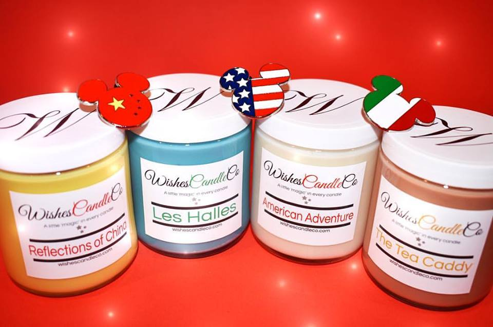Fantastically Magical Disney Inspired Candles with Trading Pins!