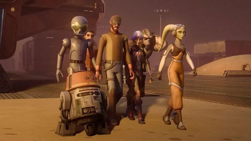 """Star Wars Rebels"" Gets A Season Four!"