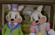 The Easter Bunny has Arrived in the Magic Kingdom!