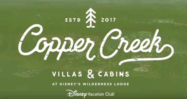 Sneak Peek of the NEW Copper Creek Villas & Cabins at Disney's Wilderness Lodge