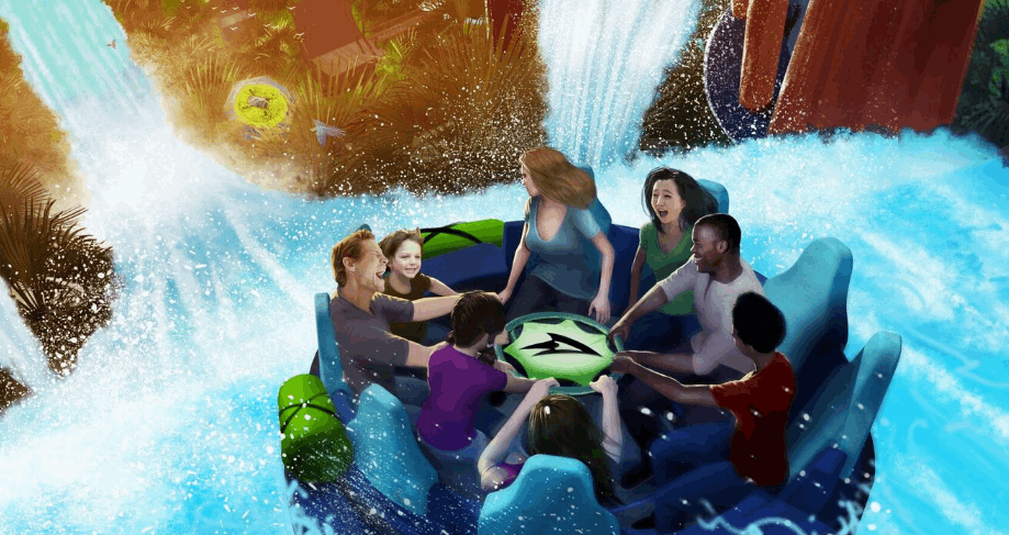 SeaWorld Orlando is Ready to Rush the Rapids with all new ride Infinity Falls in 2018