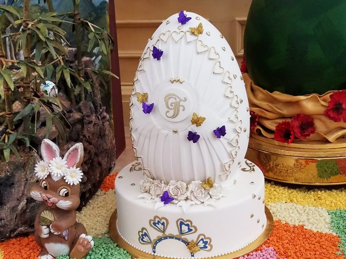 The Grand Floridian's Sixth Annual Easter Egg Display Available For Viewing Now
