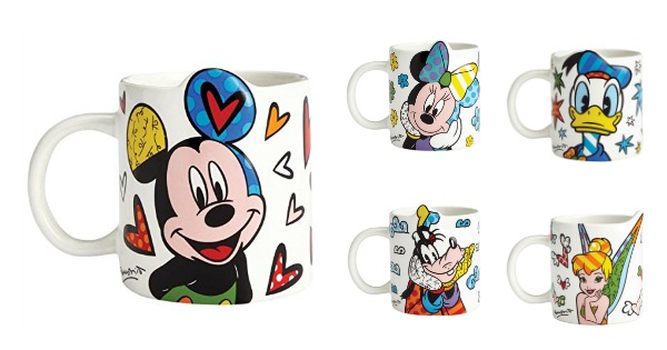 Colorful and Artistic Disney Britto Coffee Mugs