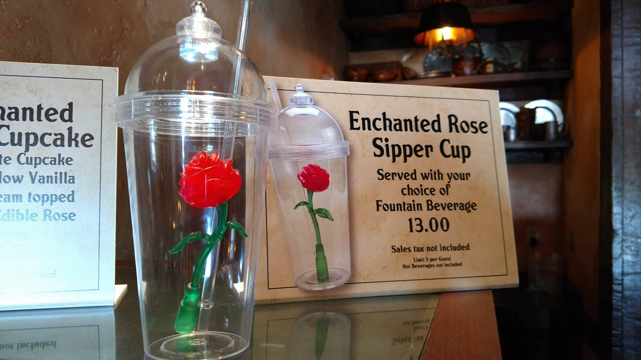 Beauty and The Beast-themed Enchanted Rose Souvenir Cup Now ...