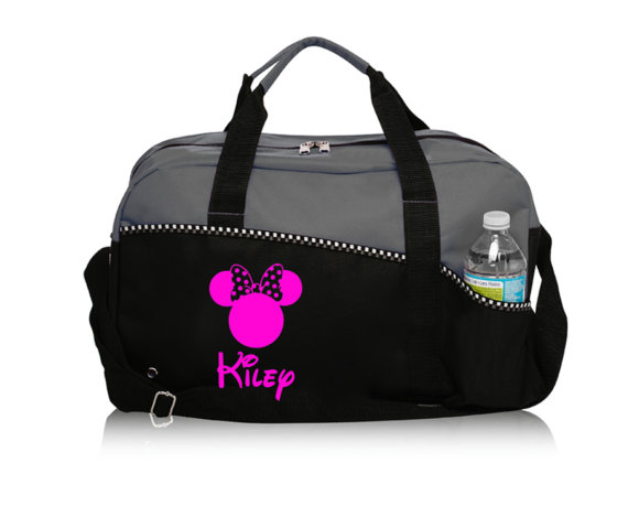 Travel in Style with this Personalized Disney Inspired Duffel Bag
