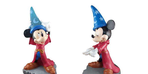Cast a Spell with Light Up Sorcerer Mickey Garden Gnomes