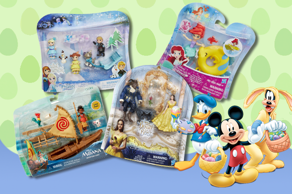 Candy Free Disney Easter Basket Fillers from Hasbro