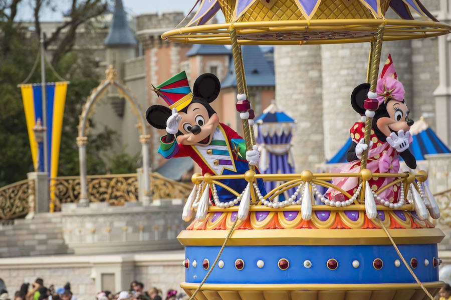 Festival of Fantasy Parade Returns to 3:00 p.m. Performance Time