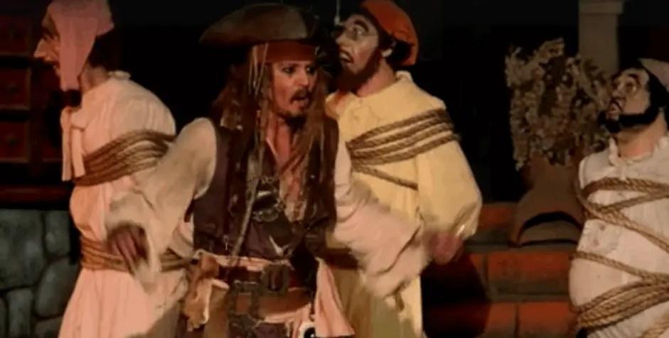 Johnny Depp Talks Surprising Guests at Disneyland