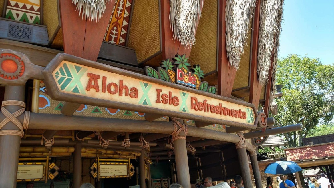 Enjoy Your Dole Whip Float in this Souvenir Mug from Aloha Isle