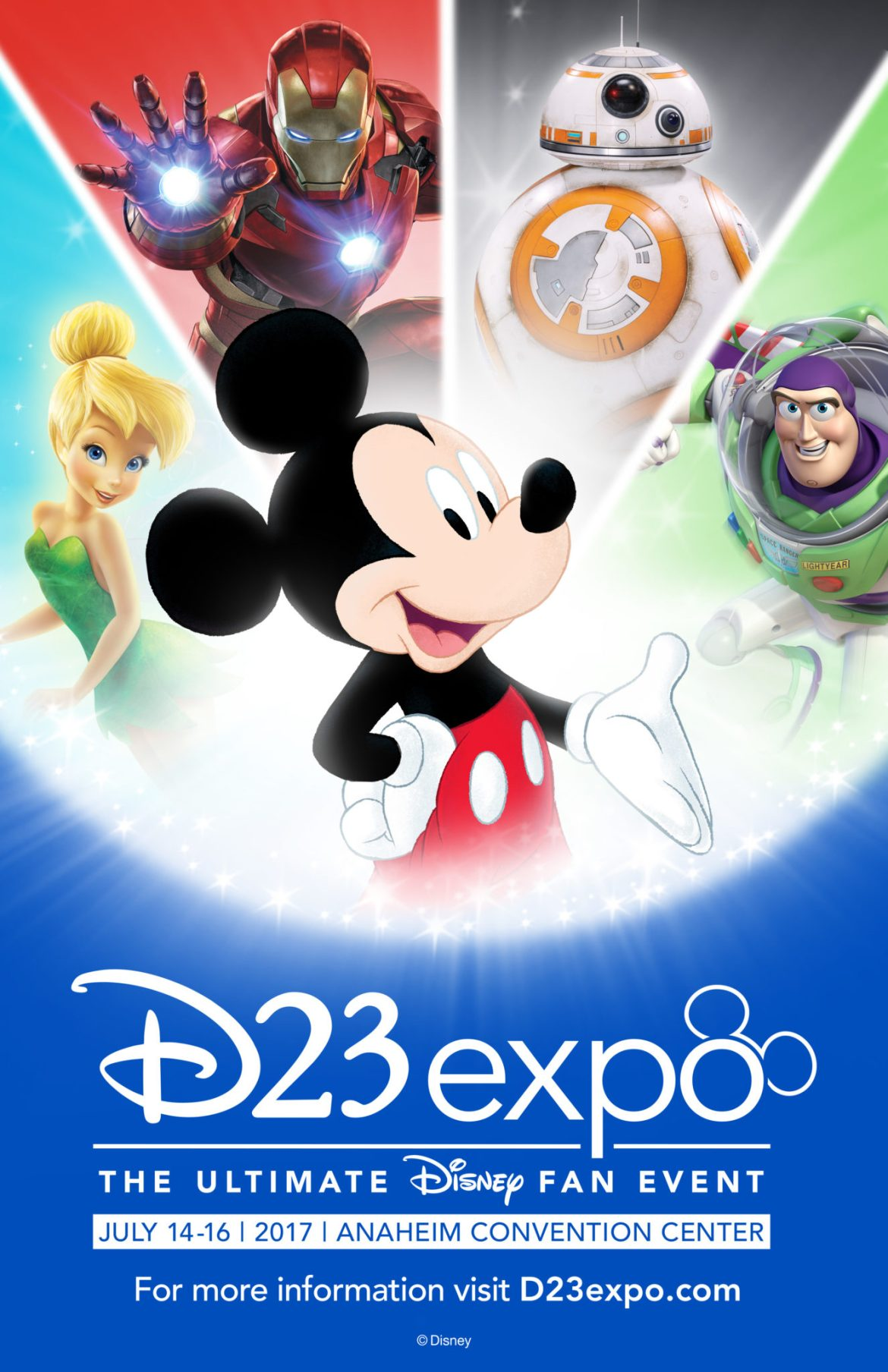 Single-Day Saturday Tickets To This Year's D23 Expo Have Sold Out!