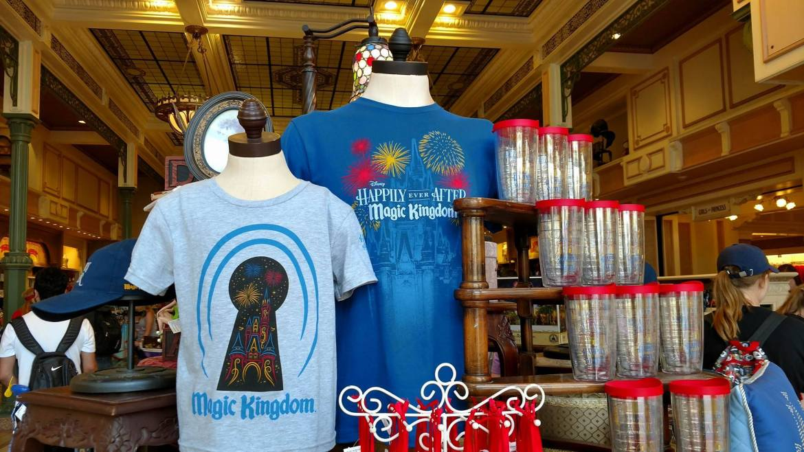 """New """"Happily Ever After"""" Merchandise Being Offered at The Magic Kingdom"""