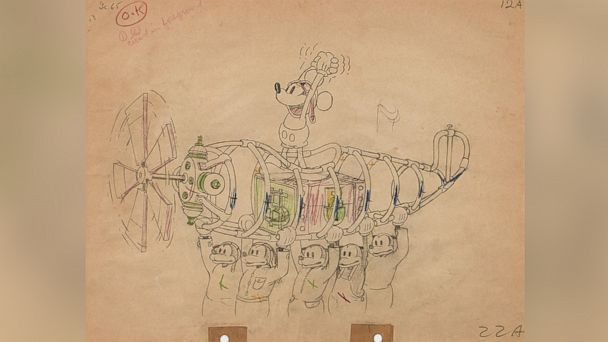Over 290 Pieces Of Disney Art Animation Up For Auction