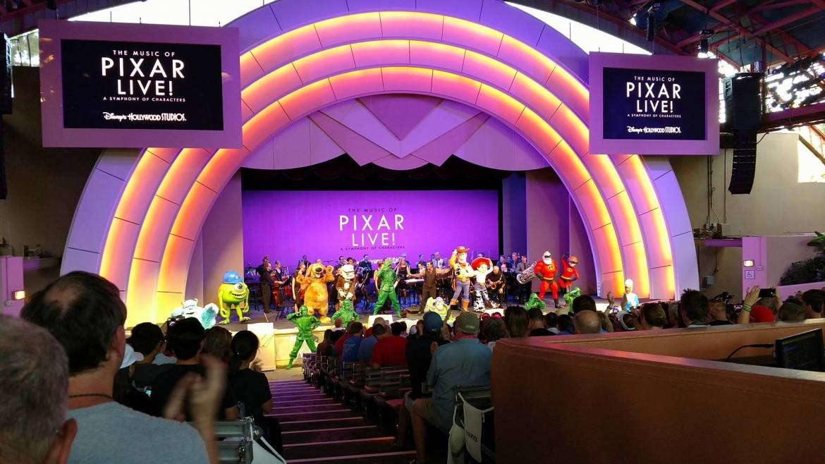 """""""The Music of Pixar Live!"""" Made Its Debut This Weekend At Hollywood Studios"""