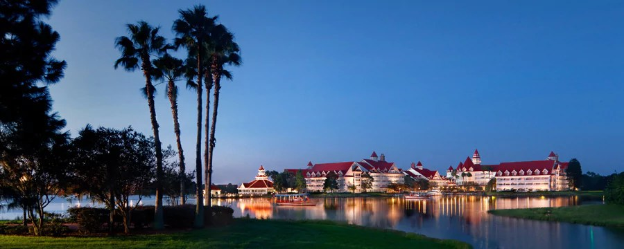 Exterior Painting Begins at Narcoossee, at Disney's Grand Floridian