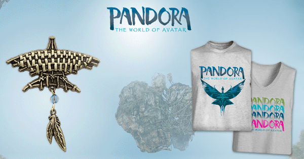 Pandora – The World of Avatar Collection Available on the Disney Store Online