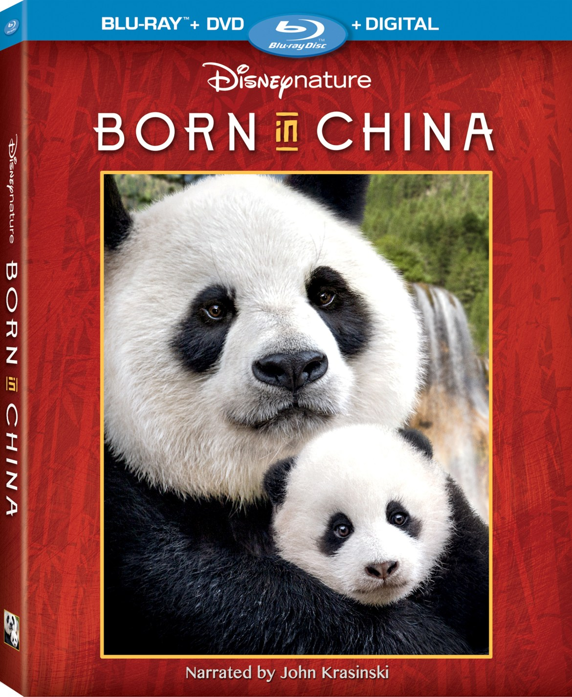 Disney's Born in China Coming to Digital and Blu-ray Combo Pack on August 29