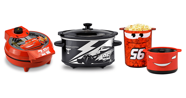 New Lightning McQueen Kitchen Appliances from the Disney Store