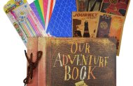 Our Adventure Book from Up! Inspired Scrapbook and Photo Album