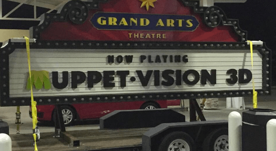 New MuppetVision 3D sign coming to Hollywood Studios
