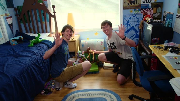 Two Brothers Don't Miss a Detail, Recreating Andy's Room From the Toy Story Films